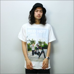 ◎Red Hot Chili Peppers Tシャツ DROP OUT 白 (レッチリ)