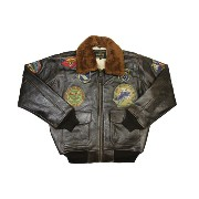 SCHOTT N.Y.C. G-1 WING OF GOLDLEATHER BOMBER JACKET (G1TG: ANT/Antique)ショット/レザーボンバージャケット/ブラウン