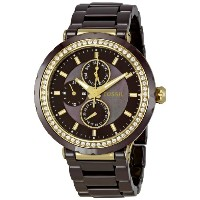 Fossil フォッシル レディース腕時計 Women's CE1046 Allie Brown Dial Watch