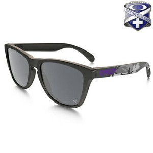 オークリー INFINITE HERO FROGSKINS サングラス 24-420 Carbon/Black Iridium 【Oakley FROGSIKINS フロッグスキン...