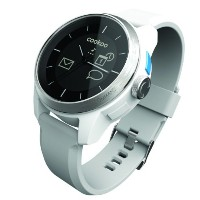COOKOO クークー 男女兼用腕時計 ブルートゥース Smart Bluetooth Connected Watch, ホワイト