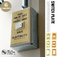 SWITCH PLATE(スイッチプレート) SW01・SW02・SW03 PACIFIC FURNITURE SERVICE(パシフィックファニチャーサービス) カラー(オレンジ・イエロー)