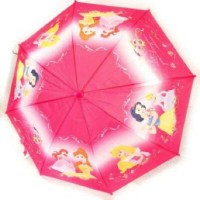 "Disney ディズニープリンセスピンク(赤紫)Child umbrella ""Princesses Disney"" pink fuchsia."