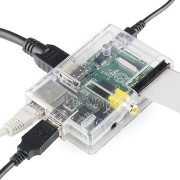 Raspberry Pi Type B 512MB ケースセット Pi Tin for the Raspberry Pi - Clear
