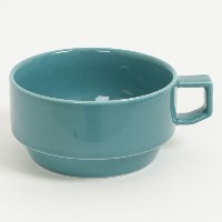 HASAMI BLOCKMUG SOUP GREEN 【RCP】