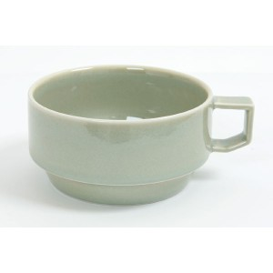 HASAMI BLOCKMUG SOUP YELLOW 【RCP】