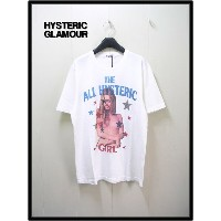 L ホワイト【HYSTERIC GLAMOUR [ヒステリックグラマー] THE ALL HYSTERIC Tシャツ】0242CT24400【新品】KT着