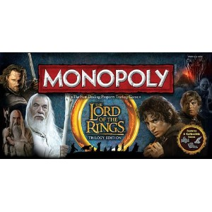 Monopoly モノポリー ロードオブザリング コレクションエディション Lord of The Rings Collectors Edition
