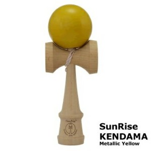 けん玉 SunRise KENDAMA(Metallic Yellow)サンライズ