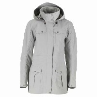 Quechua(ケシュア) ESCAPE HOODY JACKET WOMEN M LIGHT GREY 8207396-1478639【あす楽対応】