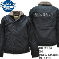 BUZZ RICKSON'S(バズリクソンズ)N-1 DECK JACKET Navy BR12030-01