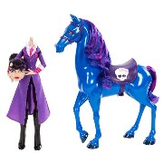 モンスターハイ 人形 ドール フィギュア Monster High - Headless Headmistress Bloodgood Doll and Nightmare Horse Set