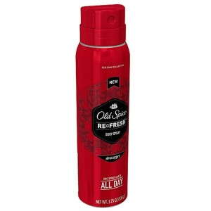 【スプレータイプ】Old Spice Red Zone Collection Refresh Swagger Body Spray, 3.75 fl oz/106g オールドスパイス...