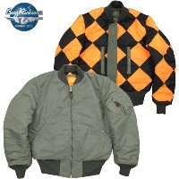 "BUZZ RICKSON'S/バズリクソンズ Jacket, Flying, Intermediate Type MA-1 ORIGINAL SPEC.""REVERSIBLE LINECREWMAN VERSION""オリジナルスペック..."