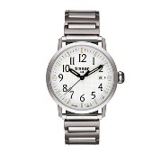 [トレーサー] Traser 腕時計 Men's Stainless Steel Classic Basic Expansion Bracelet White Dial クォーツ T4102240B2...