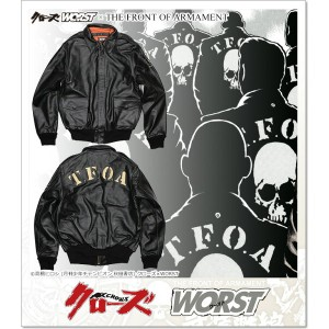 CROWS×WORST 6th T.F.O.A A2ジャケット (JACKET)(TFA2-BK)