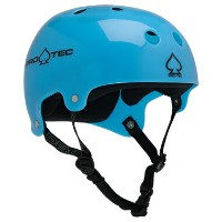 【PRO-TEC プロテック】CLASSIC BUCKY(TRANSLUCENT BLUE)【2-STAGE】【HDPE FLEX】Helmets スケートヘルメットスケートボード ...