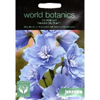 【輸入種子】Johnsons SeedsWorld Botanics CollectionDelphinium Centurion Sky Blue F1デルフィニウム・センチュリオン・スカイ...