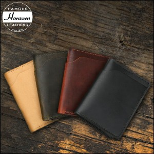 ★HORWEEN BY HORWEEN Chicago Wallet ホーウィン・バイ・ホーウィン シカゴ ウォレット【あす楽対応】【送料無料】【革・レザー】【財布】【メンズ】