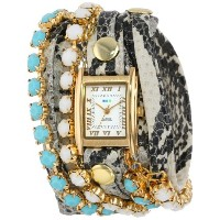ラメールコレクション 時計 レディース 腕時計 La Mer Collections Women's LMMULTI5003 Chandelier Crystal Chain Collection...
