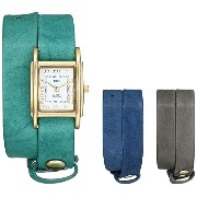 ラメールコレクション 時計 レディース 腕時計 La Mer Collections Women's LMGB1000 Gift Box Collection Grey Teal Royal...