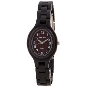 テンス 時計 レディース 腕時計 木製 Tense Dark Sandalwood Wood Oval Womens Wrist Watch L7301D W