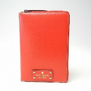 kate spade/ケイトスペード 2017年最新システム手帳 wellesley zip around personal organizer PillboxRed WLRU1321...