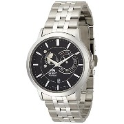 オリエント 時計 メンズ 腕時計 Orient Men's self-winding watch overseas model SUN & MOON (Black) SET0P002B0