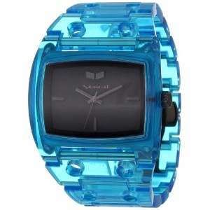 "ベスタル 時計 レディース 腕時計 Vestal Women's DESP025 ""Destroyer"" Plastic Translucent Blue Watch"