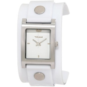 "ベスタル 時計 レディース 腕時計 Vestal Women's EAJ004 ""Electra"" Jelly White Watch and Bracelet Set"