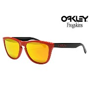 「Clearance Sale!」 OAKLEY FROGSKINS SUNGLASSES「HERITAGE COLLECTION」 901334HERITAGE RED/FIRE IRIDIUMオークリー フロッグスキン 限...
