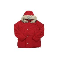 ●WOOLRICH JOHN RICH&BROS DOWN JACKET (Men's Quilted Arctic Anorak/WOCPS2211: Red)ウールリッチ/ダウンジャケット/赤