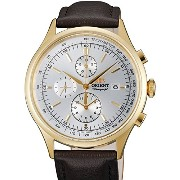 オリエント 時計 腕時計 Orient Monterey Quartz Chronograph with 12-Hour Totalizer and Tachymeter TT0V002W