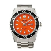 オリエント 時計 メンズ 腕時計 Orient Men's Orange Mako Automatic Dive Watch CEM75001M