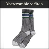 アバクロ Abercrombie&Fitch 正規品 メンズ 靴下 ATHLETIC MID-CALF SOCKS 112-138-0012-011