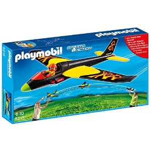プレイモービル 5215 PLAYMOBIL Fire Flyer Plane