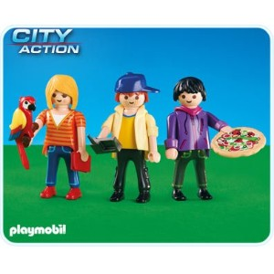 プレイモービル 6298 3人のPLAYMOS Playmobil The three PLAYMOS 6298