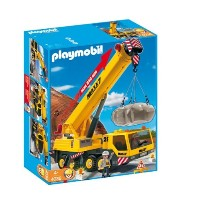 プレイモービル 4036 クレーン車 Playmobil 4036 Transport Set: Heavy Duty Mobile Crane