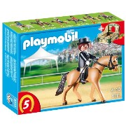 プレイモービル 5111 ドイツの競走馬 馬術 PLAYMOBIL German Sport Horse with Dressage Rider and Stable