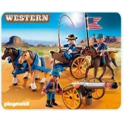 プレイモービル 5249 大砲と騎兵隊 Playmobil 5249 Horse-drawn Carriage with Cavalry Riders