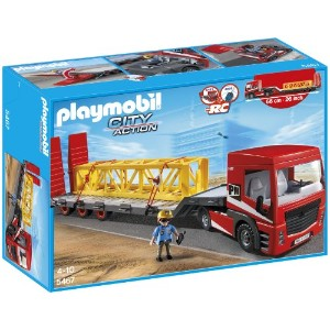プレイモービル 5467 トレーラー PLAYMOBIL Heavy Duty Flatbed Trailer