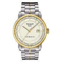 ティソ 腕時計 メンズ 時計 Tissot Men's T0864072226100 Luxury Analog Display Swiss Automatic Two Tone Watch