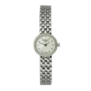 ティソ 腕時計 レディース 時計 Tissot Lovely Two-Hand Stainless Steel Women's watch #T058.009.61.116.00
