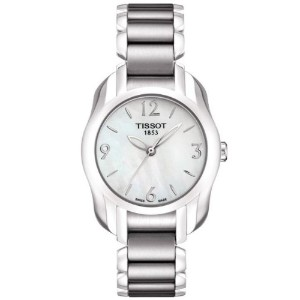 ティソ 腕時計 レディース 時計 Tissot T-Wave Mother of Pearl Dial Ladies Watch T0232101111700