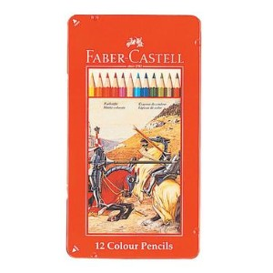 FABER-CASTELL(ファーバーカステル) 色鉛筆 12色セット TFC-CP/12C (800) 【RCP】