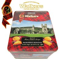 Walkers ショートブレッド ビスケット 2.1kgウォーカーズ Pure Butter Shortbread Selection Kirkland 大容量 缶 ギフト バター ...