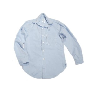 【期間限定50%OFF!】POST OVERALLS(ポストオーバーオールズ)/#1262 ULTRA POST DRESS CHAMBRAY SHIRTS/light blue