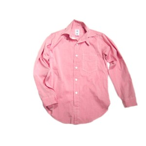 【期間限定50%OFF!】POST OVERALLS(ポストオーバーオールズ)/#1262 ULTRA POST DRESS CHAMBRAY SHIRTS/red