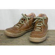 GOSH / ゴッシュ URVO LEATHER LACE-UP シューズ (TAN) 9inch