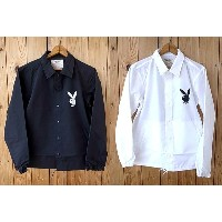 ★SALE 20%OFF★ THE WYLER CLOTHING CO. ワイラー クロージング PLAY BOY COACH JACKET プレイボーイ ナイロン コーチ ジャケ...